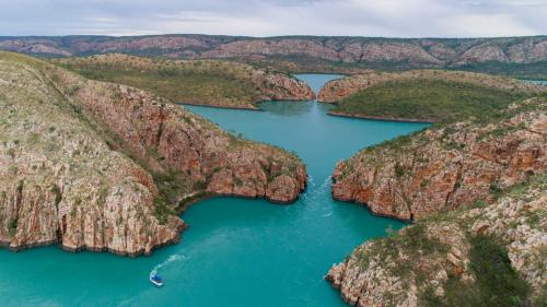 Horizontal Falls not flowing
